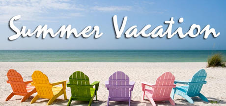 Have a safe and fun summer vacation! School resumes on Wednesday, August 31st  at 9am!